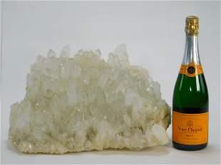 XL Quartz Crystal Cluster Mineral Specimen