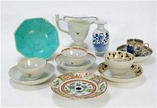 12PC Chinese Export Porcelain Group