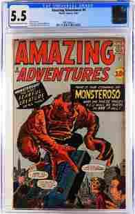 Marvel Comics Amazing Adventures #5 CGC 5.5