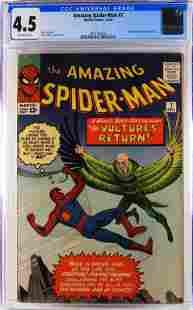Marvel Comics Amazing Spider-Man #7 CGC 4.5