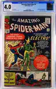 Marvel Comics Amazing Spider-Man #9 CGC 4.0