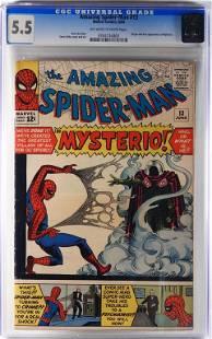 Marvel Comics Amazing Spider-Man #13 CGC 5.5