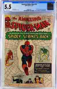 Marvel Comics Amazing Spider-Man #19 CGC 5.5