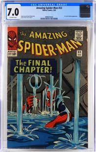 Marvel Comics Amazing Spider-Man #33 CGC 7.0