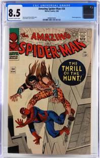 Marvel Comics Amazing Spider-Man #34 CGC 8.5