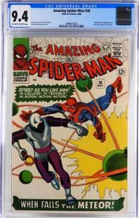 Marvel Comics Amazing Spider-Man #36 CGC 9.4