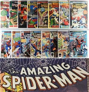 19 Marvel Comics Amazing Spider-Man #38-#375 & GS