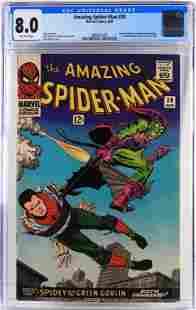 Marvel Comics Amazing Spider-Man #39 CGC 8.0