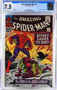 Marvel Comics Amazing Spider-Man #40 CGC 7.5