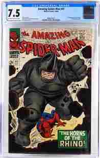 Marvel Comics Amazing Spider-Man #41 CGC 7.5