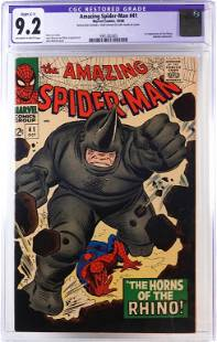 Marvel Comics Amazing Spider-Man #41 CGC 9.2