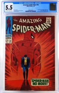 Marvel Comics Amazing Spider-Man #50 CGC 5.5