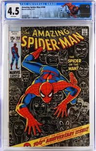 Marvel Comics Amazing Spider-Man #100 CGC 4.5