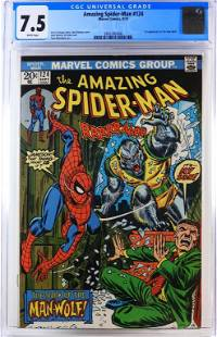 Marvel Comics Amazing Spider-Man #124 CGC 7.5