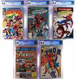 5PC Marvel Comics Modern Key CGC Group