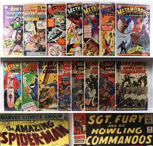33PC DC Marvel Comics Silver Bronze Age Group
