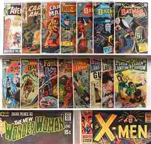 25PC DC Marvel Comics Silver Bronze Age Book Group
