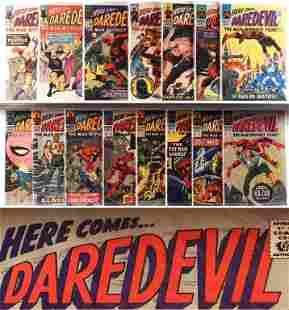 15PC Marvel Comics Daredevil #4-#24 Group