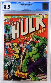 Marvel Comics Incredible Hulk #181 CGC 8.5