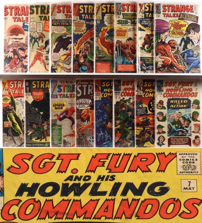 25PC Atlas Marvel DC Silver Age Comic Group