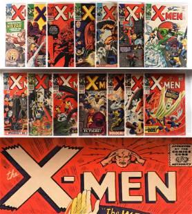 14PC Marvel Comics X-Men #10-#28 Group