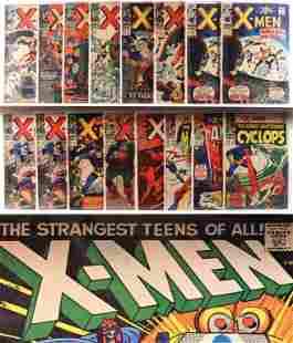 25PC Marvel Comics X-Men #19-#70 Group