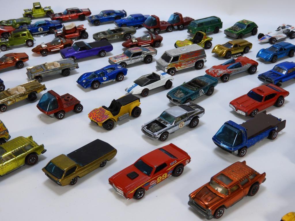 72PC Mattel Hot Wheels Redline Childhood Toy Group