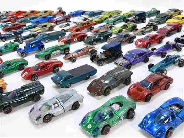 114PC Mattel Hot Wheels Redline Estate Fresh Group