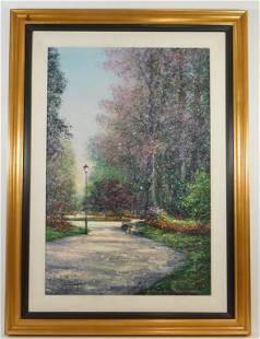 Guy Dessapt Impressionist Landscape Painting