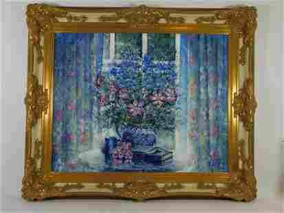 Guy Dessapt Impressionist Still Life Painting
