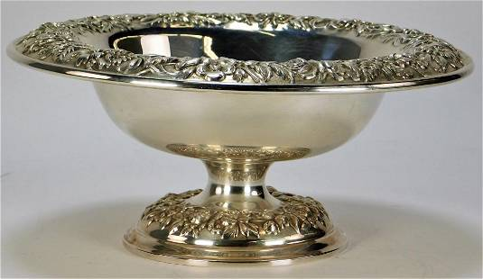 S. Kirk & Son Sterling Silver Repousse Center Bowl