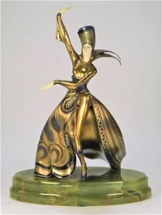 Gerda Iro Gerdago Viennese Dancer Sculpture