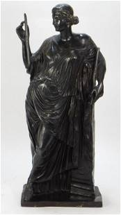 Barbedienne School Bronze Diana Sculpture