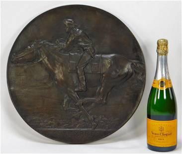 Alexander Phimister Proctor Pony Express Plaque
