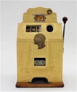 O.D. Jennings Chief Silver Dollar Slot Machine