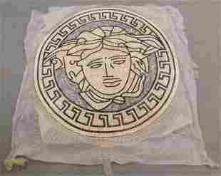 Versace Medusa Medallion Mosaic Tile Panel