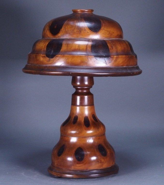 Brazilian Butterfly Wood Table Lamp