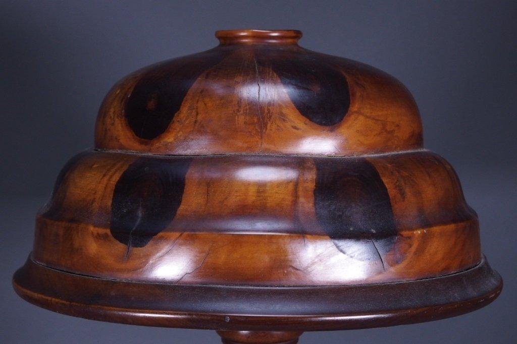 Brazilian Butterfly Wood Table Lamp - 2