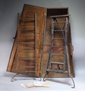 W.s. Osterhoudt's Salesman Automatic Ladder Base