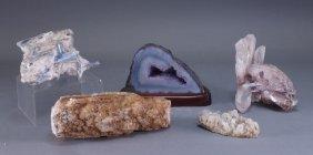Estate Lot Natural Formation Crystal Rock Geodes