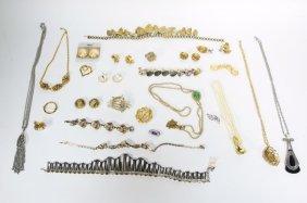 Austrian Hobe Barclay Marvella Jewelry Grouping