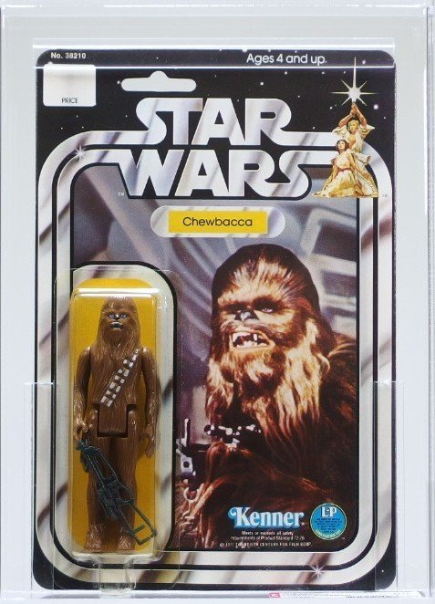1978 Star Wars 12 Back C Chewbacca AFA 90