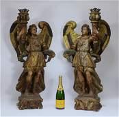 PR Antique Italian Florentine Baroque Figures