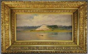 Charles Henry Gifford Seaweed Gatherers Painting
