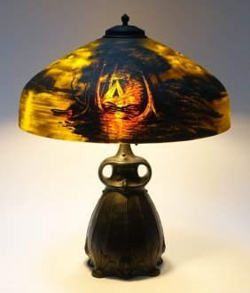 Pittsburgh Call Of The Wild Owl Base Lamp