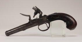 18th Cent. English Thomas Archer Flintlock Pistol
