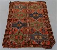 Antique Persian Caucasian 8 Medallion Rug