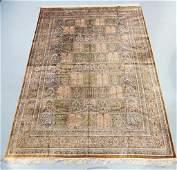 Persian Silk Room Size Rug Carpet
