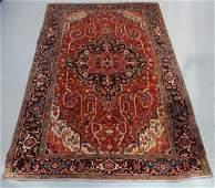 Antique Persian Heriz Carpet Rug