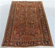 Antique Persian Heriz Room Size Carpet Rug
